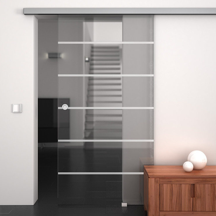 Glass doors by Lionidas Design GmbH, Minimalist
