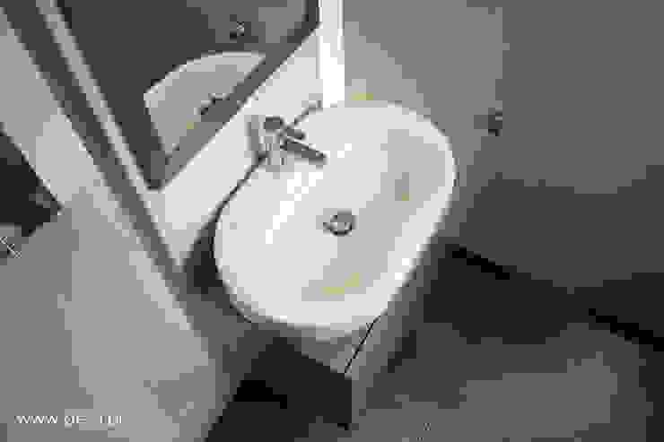 Mieszkanie w Poznaniu Minimalistyczna łazienka od Dessi Minimalistyczny