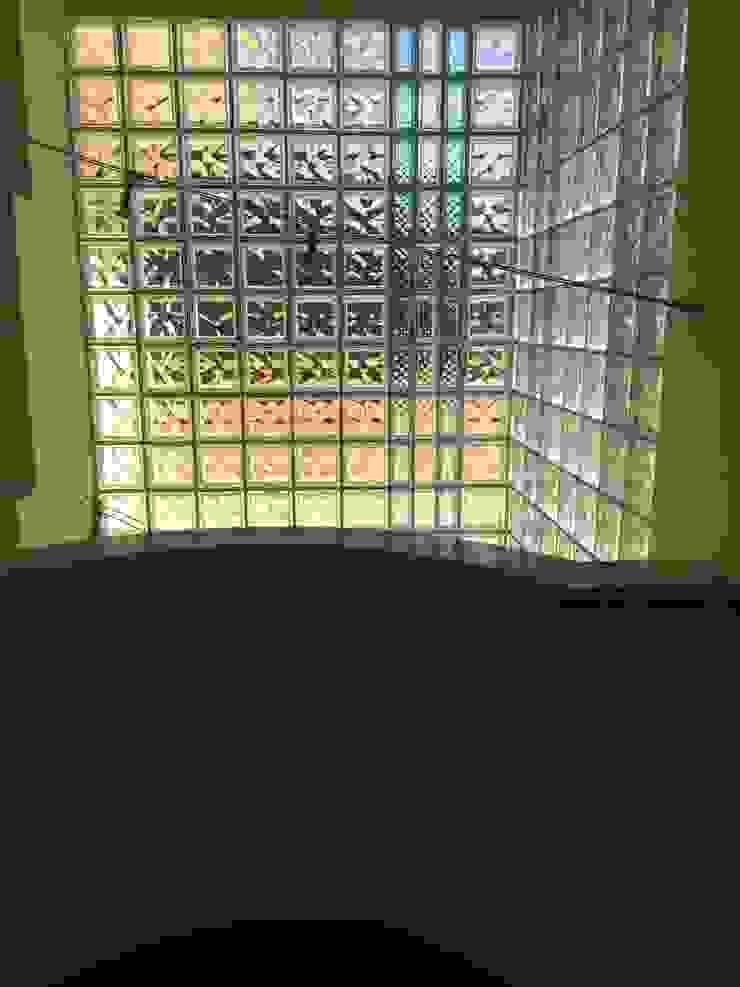 antonio giordano architetto Couloir, entrée, escaliers modernes