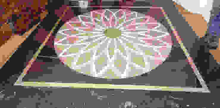 Reyhan Mermer Sanayi Ltd. – Circular Marble Medallion: modern tarz , Modern Mermer