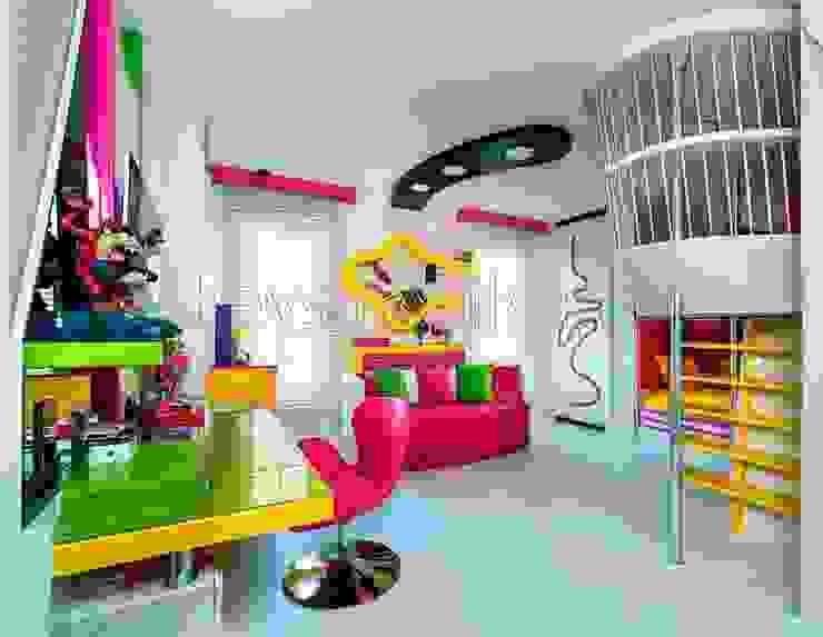 Özel Genç Odası Tasarım ve Uygulama (Kişiye Özel Tasarım) Minimalist Çocuk Odası Akabe Mobilya San ve Tic. Ltd. Şti Minimalist