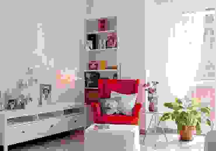 Appartamento privato - Milano Soggiorno eclettico di Marco D'Andrea Architettura Interior Design Eclettico