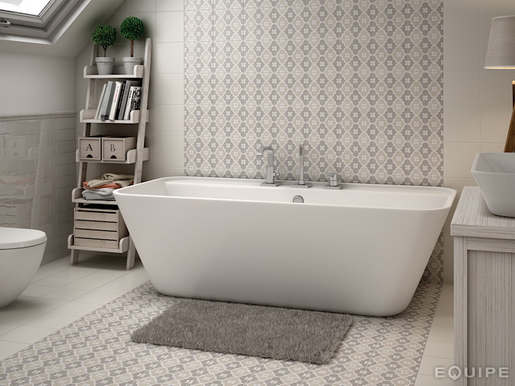 Modern style bathrooms by Equipe Ceramicas Modern