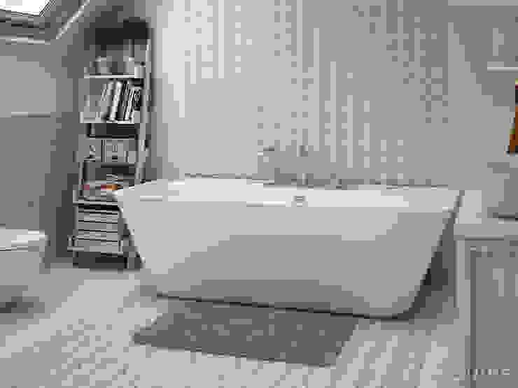 Caprice DECO Bowtie Pastel 20x20 Baños de estilo moderno de Equipe Ceramicas Moderno