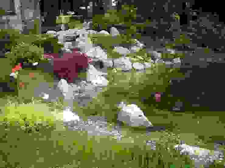 Taman Gaya Country Oleh Neues Gartendesign by Wentzel Country