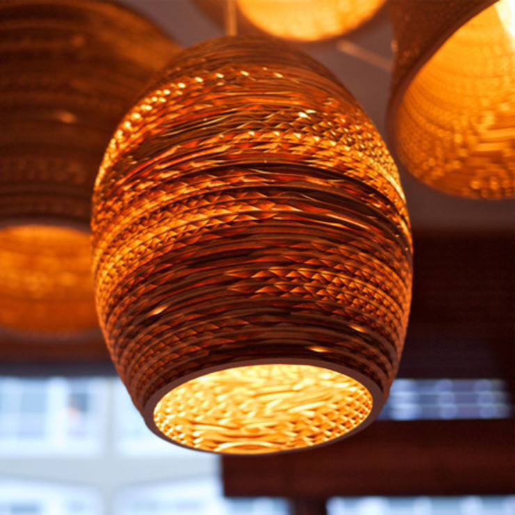 "Graypants Olive Pendant Light 7"" de NuCasa Moderno"