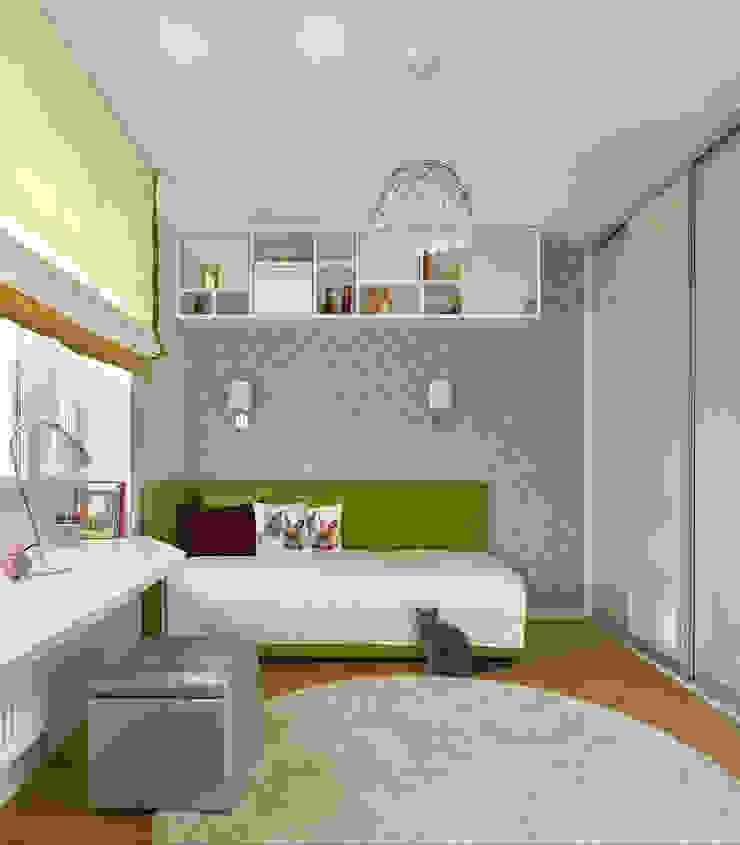 Дизайн квартиры в Москве / ул. 9 Мая Детская комнатa в скандинавском стиле от Бюро TS Design Скандинавский