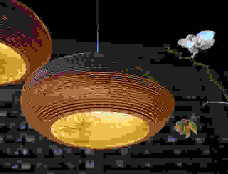 Graypants Disc Pendant Light: modern  by NuCasa, Modern