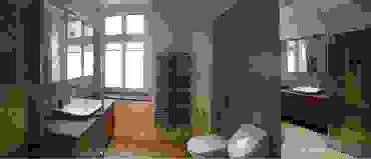1 Minimalistyczna łazienka od NaNovo Minimalistyczny