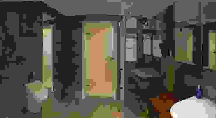 2 Minimalistyczna łazienka od NaNovo Minimalistyczny