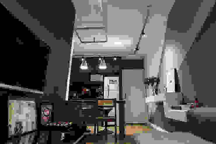 Apartamento Alto do Ipiranga Salas de estar modernas por SP Estudio Moderno