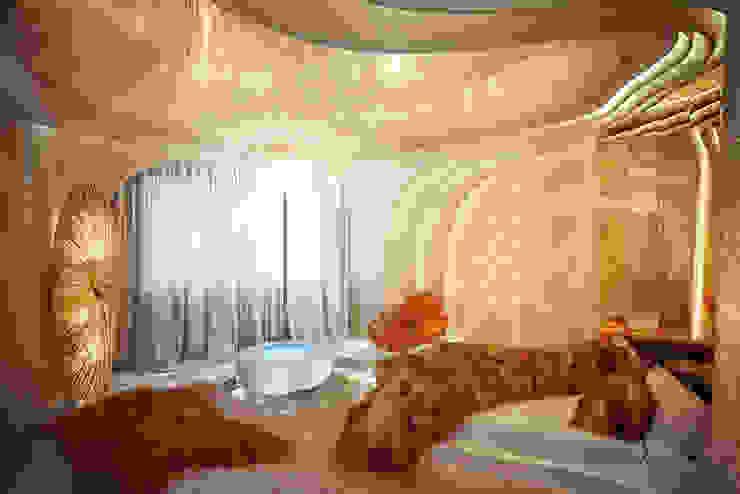 Salones de estilo moderno de Cтудия дизайна Станислава Орехова Moderno