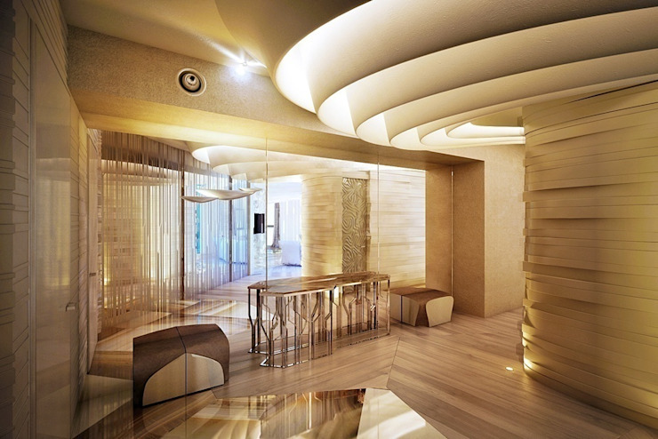Cтудия дизайна Станислава Орехова Ingresso, Corridoio & Scale in stile moderno