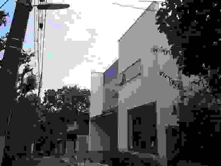 借景を取り込んだ家 モダンな 家 の 三浦尚人建築設計工房 モダン