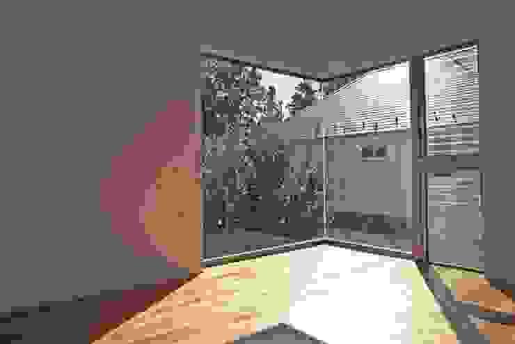 借景を取り込んだ家 モダンデザインの リビング の 三浦尚人建築設計工房 モダン