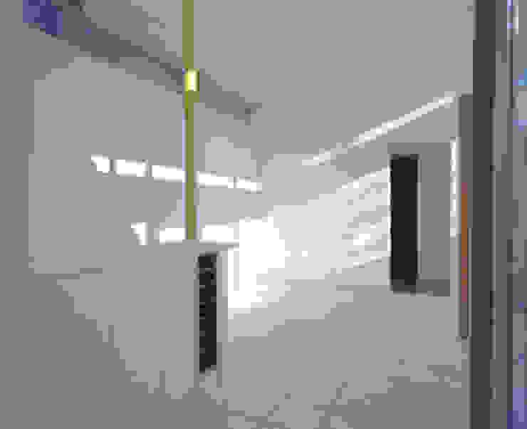 玄関ホール モダンスタイルの 玄関&廊下&階段 の 三浦尚人建築設計工房 モダン タイル
