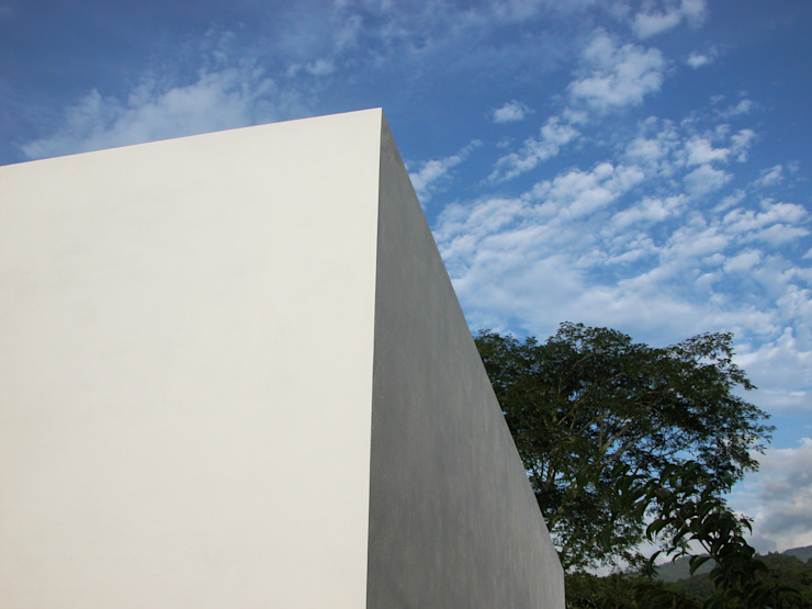 Esterni | Linee pure Aroma Italiano Eco Design Casa unifamiliare Bianco