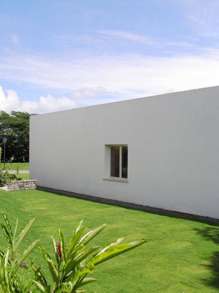 Minimalist Style Aroma Italiano Eco Design Casa unifamiliare Bianco