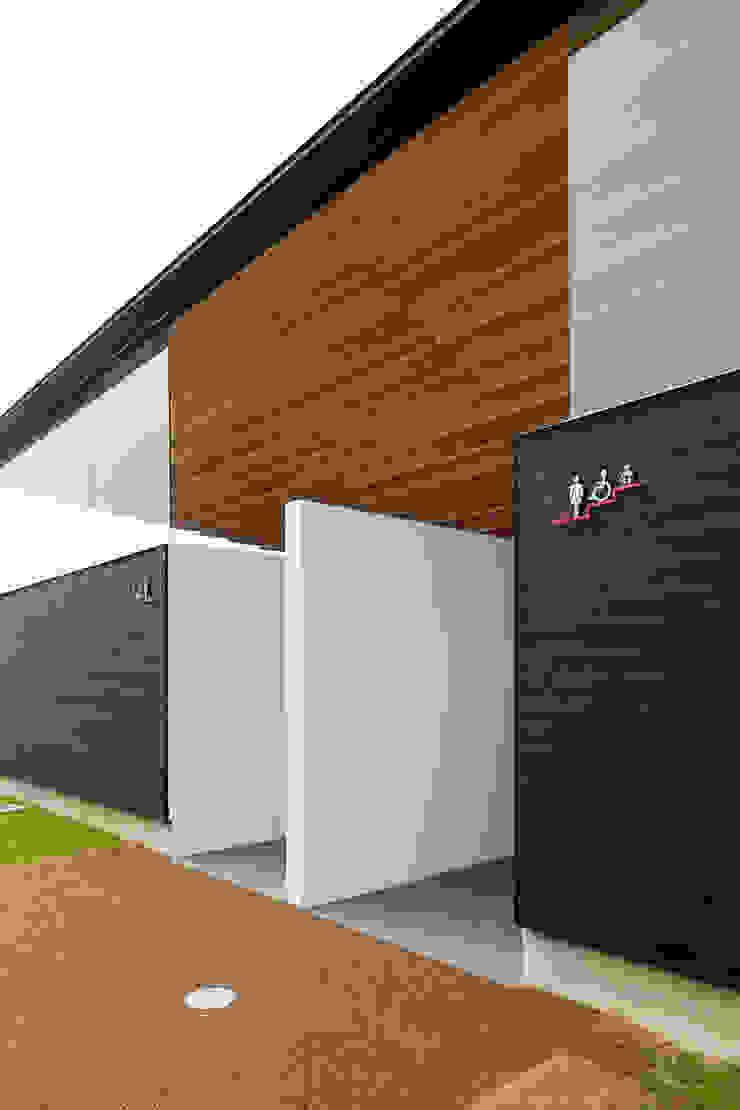 入り口 アジア風商業空間 の bUd アトリエ一級建築士事務所 和風