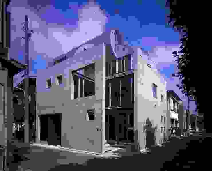 シリンダーのある家 オリジナルな 家 の 株式会社 伊坂デザイン工房 オリジナル
