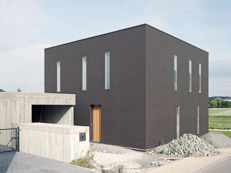 Houses by f m b architekten - Norman Binder & Andreas-Thomas Mayer, Minimalist