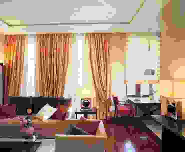Квартира в историческом центре г. Москвы Гостиная в стиле модерн от Судникова Вероника Модерн