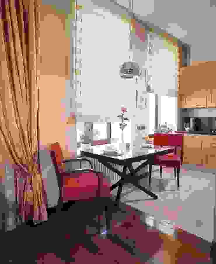Квартира в историческом центре г. Москвы Кухня в стиле модерн от Судникова Вероника Модерн