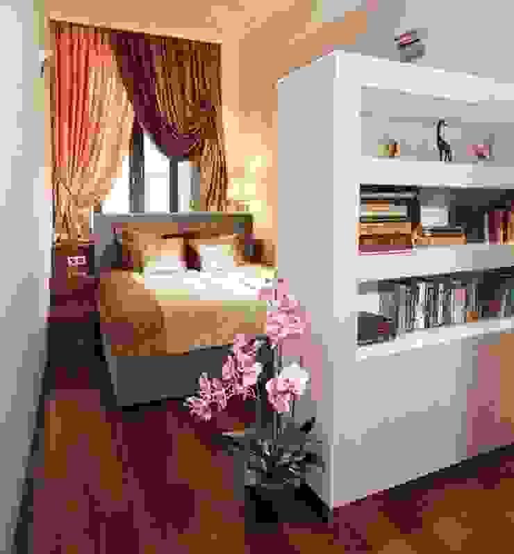 Квартира в историческом центре г. Москвы Спальня в стиле модерн от Судникова Вероника Модерн