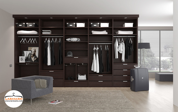 macarenaromero BedroomWardrobes & closets