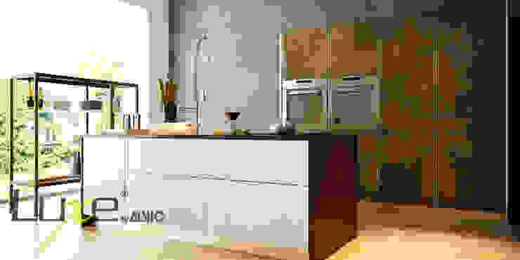 Alto brillo Luxe by Alvic en cocina. Cocinas de estilo moderno de ALVIC Moderno