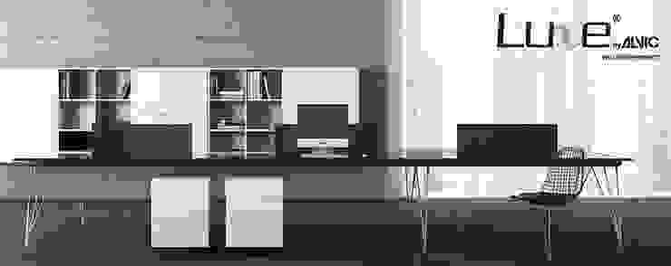 Mobiliario de oficina alto brillo Luxe by Alvic. Edificios de oficinas de estilo moderno de ALVIC Moderno