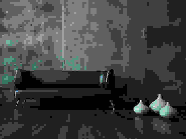 Concrete Wallpaper XSTONE XSTONE Bodenbelags GmbH Pareti & Pavimenti in stile moderno