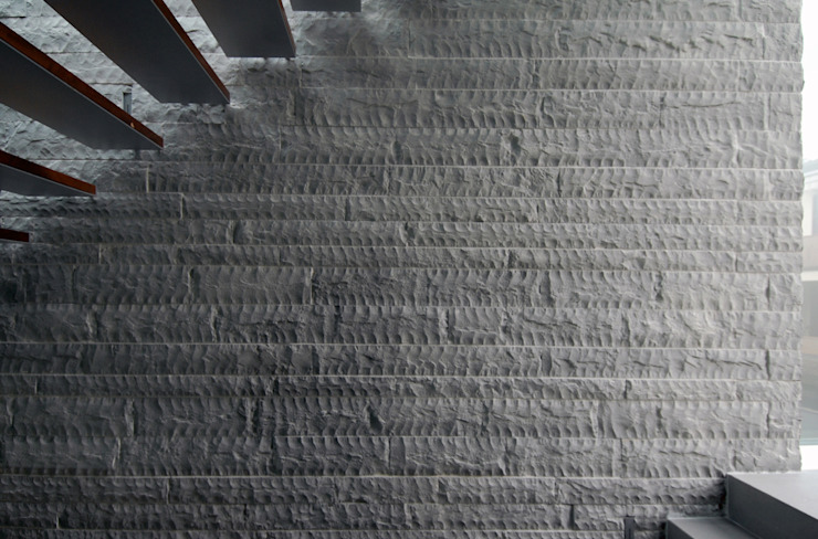Modern walls & floors by NAT OFFICE - christian gasparini architect Modern