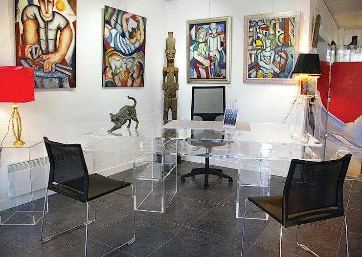 Oficina de dirección de Art Concept Gallery Moderno
