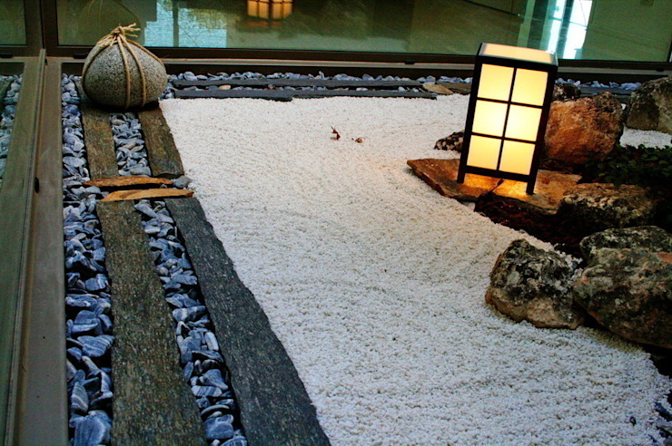 Jardines zen de estilo  por Jardines Japoneses -- Estudio de Paisajismo, Minimalista