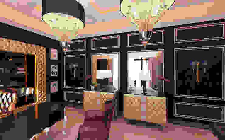 Дизайн кабинета Рабочий кабинет в стиле модерн от UKRINTEL Модерн