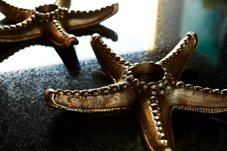 Starfish T-lights: eclectic  by Abigail Ahern, Eclectic