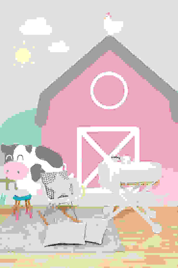La vida en el campo rural de Tres Tintas Barcelona Moderno