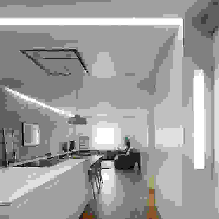 Piso Vilas Cocinas de estilo moderno de Castroferro Arquitectos Moderno