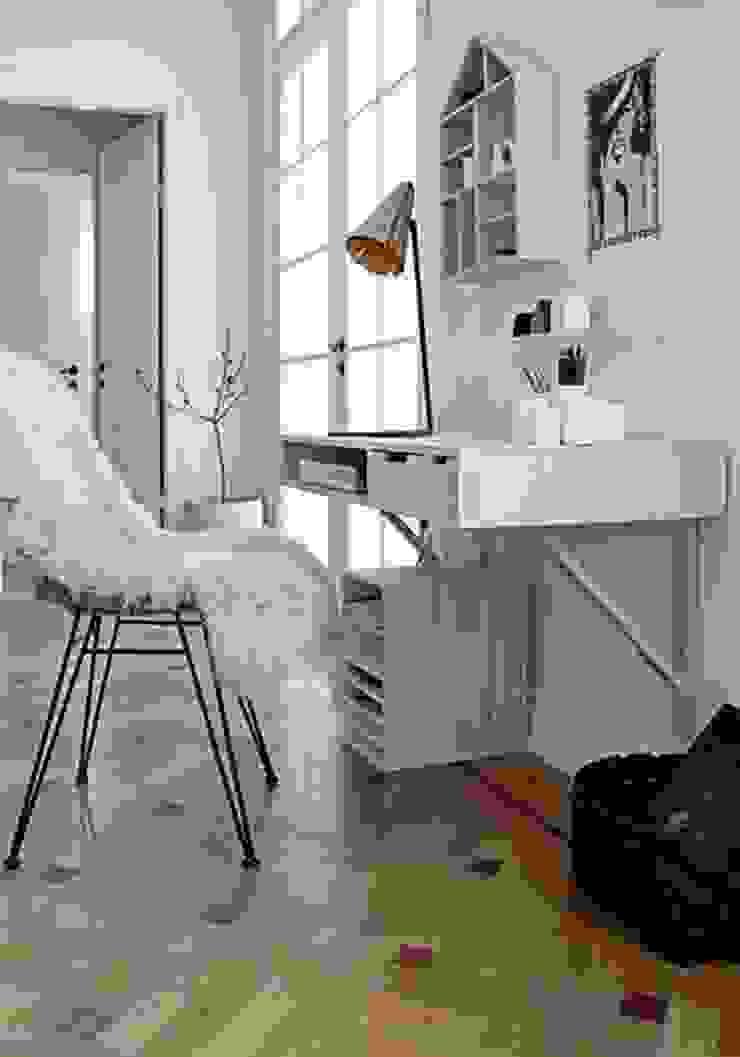 Piel de cordero color blanco de Chicplace Minimalista