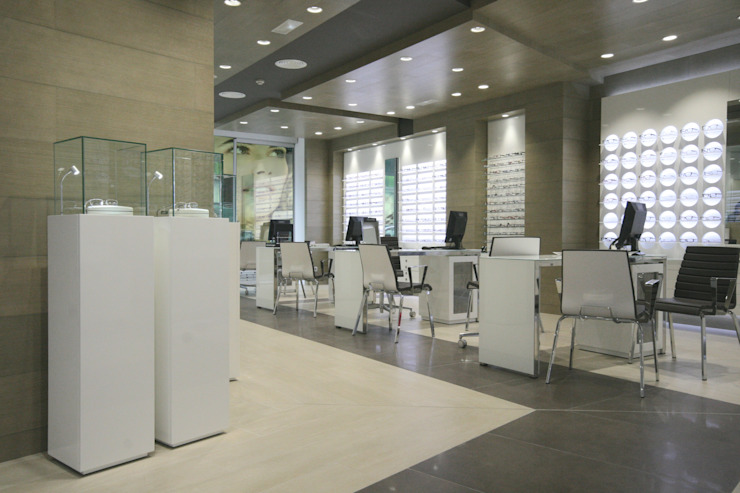 Zona de ventas Espacios comerciales de estilo moderno de Crespi Interiorisme Moderno