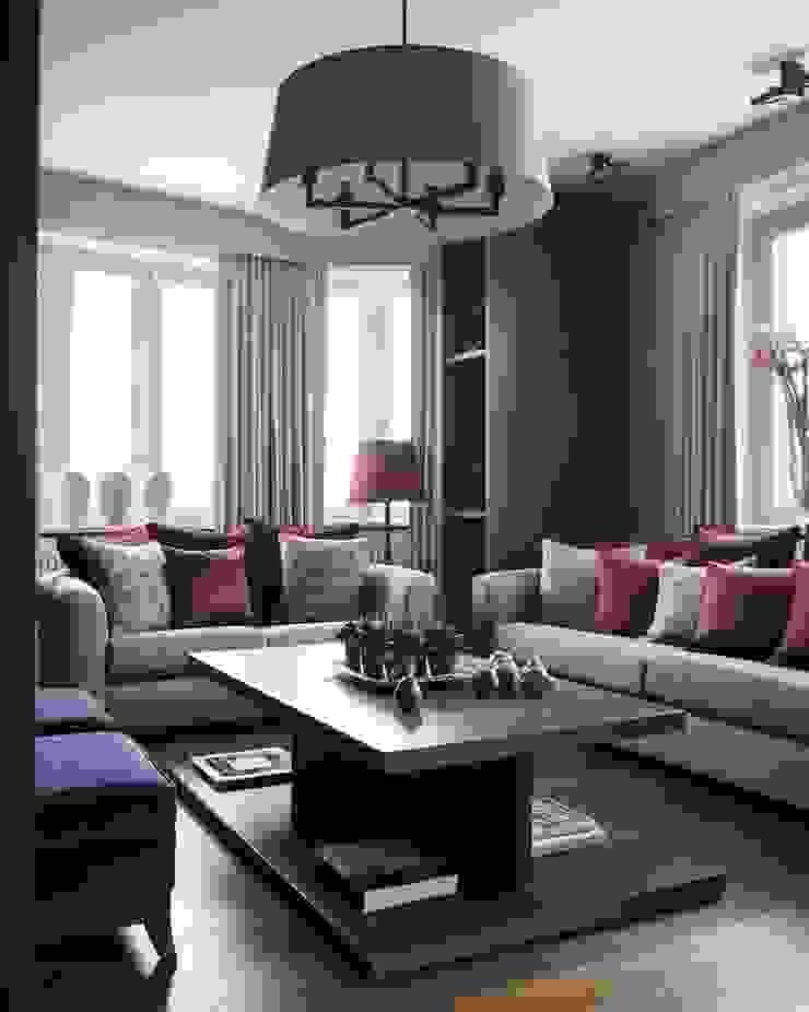 Квартира в Химках Гостиная в стиле модерн от Дизайн бюро Татьяны Алениной Модерн