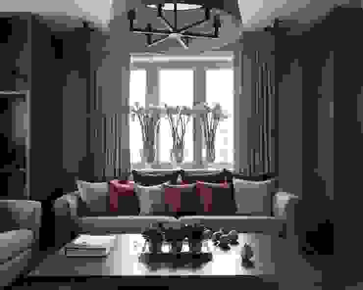 Modern Living Room by Дизайн бюро Татьяны Алениной Modern