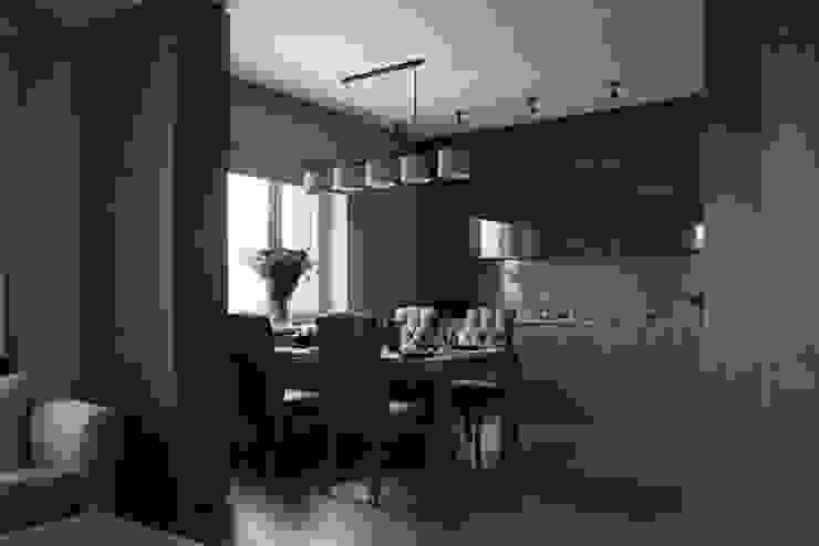 Квартира в Химках Кухня в стиле модерн от Дизайн бюро Татьяны Алениной Модерн