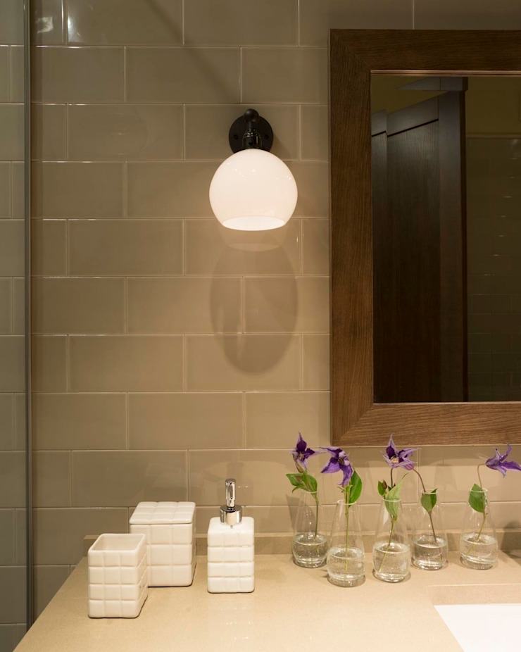 Квартира в Химках Ванная комната в стиле модерн от Дизайн бюро Татьяны Алениной Модерн