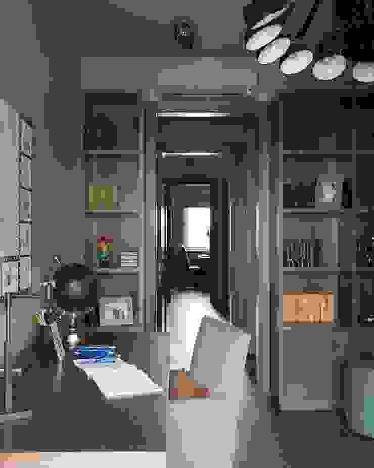 Квартира в Химках Рабочий кабинет в стиле модерн от Дизайн бюро Татьяны Алениной Модерн