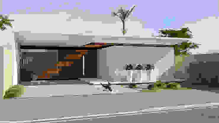 Redidência NV+ Casas modernas por Quattro+ Arquitetura Moderno