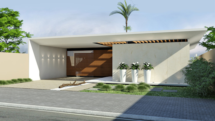 Houses by Quattro+ Arquitetura, Modern