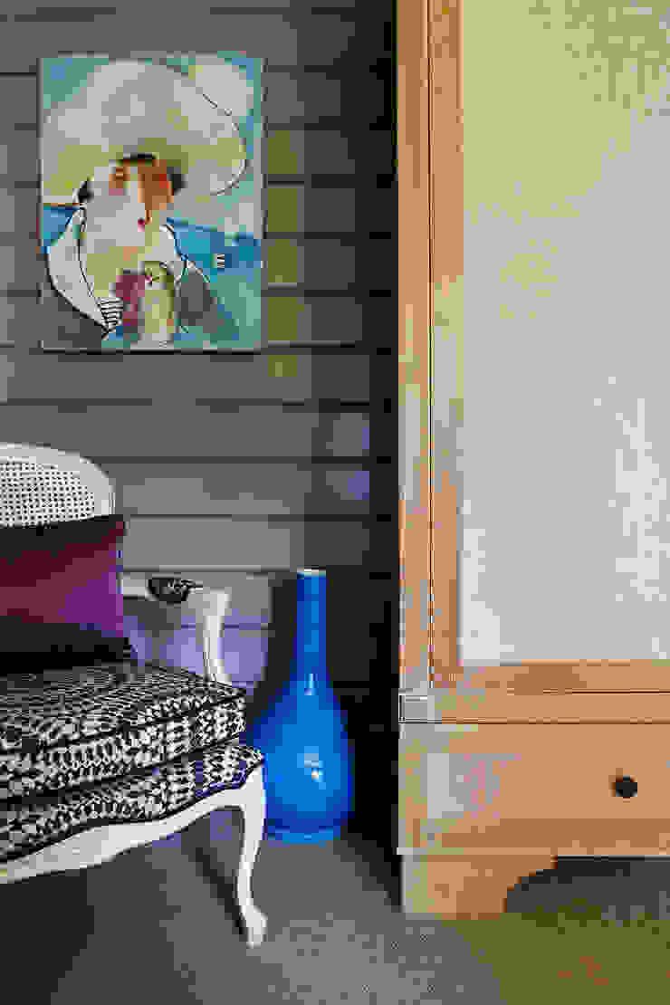 Дом из клееного бруса в Новоглаголево Дизайн бюро Татьяны Алениной Детская комната в стиле модерн