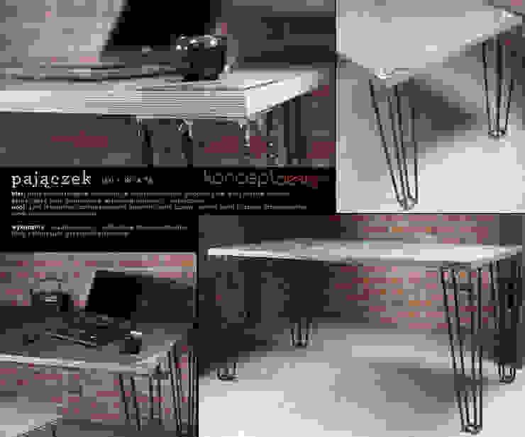 """Stół """"Pajączek"""" od Konceptdesign Industrialny"""